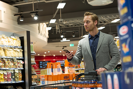 German EDEKA supermarket first to adapt Philips Lighting's indoor positioning lighting system
