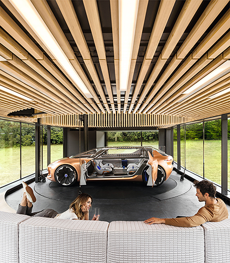 Renault car in living space copyright GUERRA Fernando